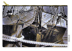 Carry-all Pouch featuring the photograph Shining Sea by Robert McCubbin