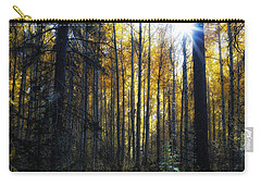 Carry-all Pouch featuring the photograph Shining Through by Belinda Greb