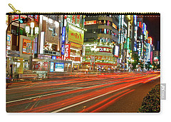 Shinjuku Neon Strikes Carry-all Pouch
