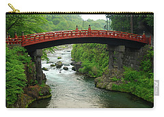 Shinkyo In Nikko Carry-all Pouch by Jonah  Anderson