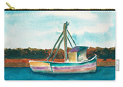 Ship In The Marsh Carry-all Pouch