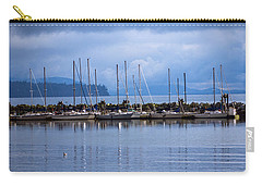 Carry-all Pouch featuring the photograph Ship To Shore by Jordan Blackstone
