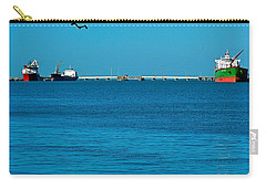 Ships  In Harbor Carry-all Pouch