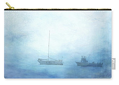Ships In The Morning Haze  Carry-all Pouch