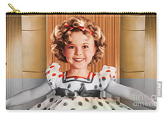 Shirley Temple Carry-all Pouch by Marvin Blaine