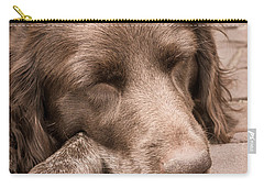 Shishka Dog Dreaming The Day Away Carry-all Pouch