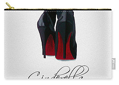Shoes Can Change Your Life Carry-all Pouch by Rebecca Jenkins