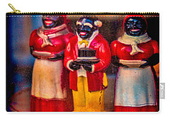 Carry-all Pouch featuring the photograph Shop Window Trio by Chris Lord