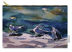 Shoreline Birds Iv Carry-all Pouch