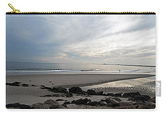 Shores Of Holgate Carry-all Pouch by Elsa Marie Santoro