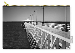 Shorncliffe Pier In Monochrome Carry-all Pouch