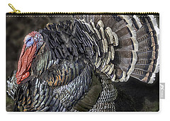 Short Feathers Tom Carry-all Pouch