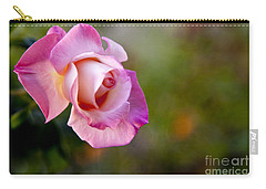 Carry-all Pouch featuring the photograph Short Lived Beauty by David Millenheft