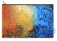 Carry-all Pouch featuring the painting Show Me Your Glory by Linda Bailey