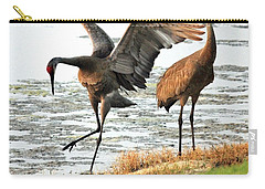 Sandhill Crane Carry-all Pouches