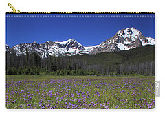 Showy Penstemon Wildflowers Sawtooth Mountains Carry-all Pouch