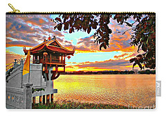 Shrine On The Lake. Carry-all Pouch