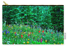 Shrine Pass Wildflowers Carry-all Pouch