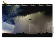 Shrouded Tornado Carry-all Pouch by Ed Sweeney