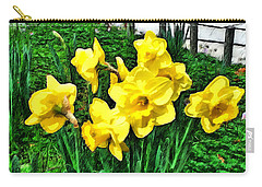 Shy Daffodils  Carry-all Pouch