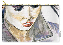 Shy Lady Carry-all Pouch by Teresa White