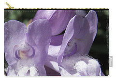 Shy Little Violets Carry-all Pouch