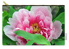 Shy Peony Carry-all Pouch