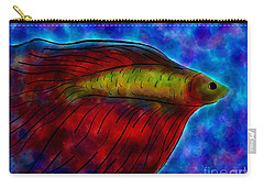 Siamese Fighting Fish II Carry-all Pouch