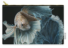 Siamese Fighting Fish Three Carry-all Pouch