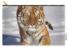 Siberian Tiger Coming Forward Carry-all Pouch