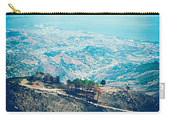 Carry-all Pouch featuring the photograph Sicilian Land After Fire by Silvia Ganora