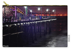 Side Of The Pier - Santa Monica Carry-all Pouch