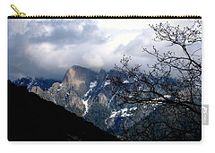 Carry-all Pouch featuring the photograph Sierra Nevada Snowy View by Matt Harang