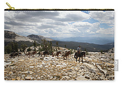 Sierra Trail Carry-all Pouch by Diane Bohna