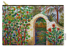 Siesta Key Archway Carry-all Pouch by Lou Ann Bagnall