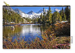Carry-all Pouch featuring the photograph Signs Of Spring by Lynn Bauer