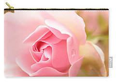 Silence Of The Heart Carry-all Pouch by Connie Handscomb