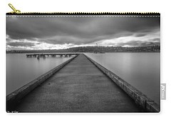 Silent Dock Carry-all Pouch by Charlie Duncan