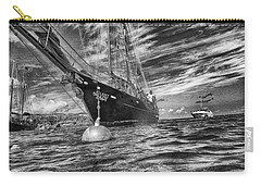 Carry-all Pouch featuring the photograph Silent Lady by Howard Salmon