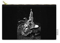 Silent Night In Venice Carry-all Pouch by Elf Evans