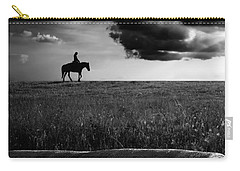 Silhouette Bw Carry-all Pouch