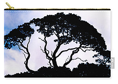 Carry-all Pouch featuring the photograph Silhouette by Jim Thompson