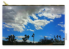 Silhouettes  Carry-all Pouch by Angela J Wright