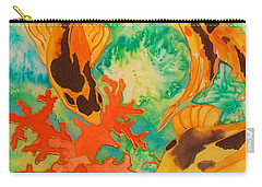 Silk Koi Carry-all Pouch