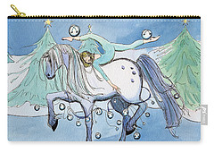 Silver Belles Carry-all Pouch