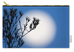 Carry-all Pouch featuring the photograph Silver Sage by Jim Garrison