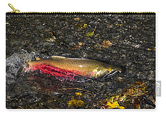 Silver Salmon Spawning Carry-all Pouch