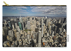 Carry-all Pouch featuring the photograph Sim City by Mihai Andritoiu