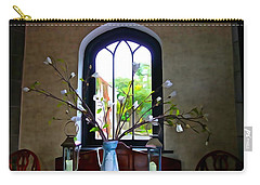 Carry-all Pouch featuring the photograph Simple Elegance by Charlie and Norma Brock