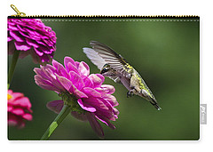 Simple Pleasure Hummingbird Delight Carry-all Pouch